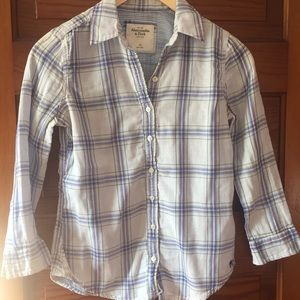 Abercrombie & Fitch long sleeve button down shirt